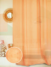 Rideau pur lin Fior di lino orange (col.7)