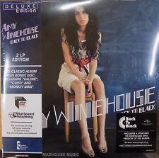 AMY WINEHOUSE LP x 2 Back To Black AUDIOPHILE Half-Speed REMASTERED + BONUS Trks