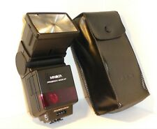 CASED,  MINOLTA 4000AF PROGRAM FLASHGUN for MINOLTA 7000 & 9000AF SLRs (#86)