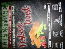 Lifestage Adult Dog Turkey & Cranberry Festive Feast 4 x 400g trays BNIB