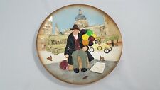 "The Balloon Man Royal Doulton 1980 D6655 Collectible Character 10"" Plate"