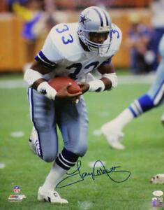Tony Dorsett Autographed/Signed Dallas Cowboys 16x20 Photo JSA 21892