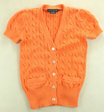 Ralph Lauren Pullover Sweater Orange Gr. XS