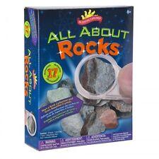 ALL ABOUT ROCKS - 17 ACTIVITIES EDUCATIONAL KIDS SCIENCE KIT SCIENTIFIC EXPLORER