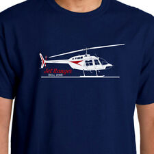 Aeroclassic Bell Jet Ranger Helicopter T-Shirt