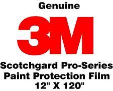 "Genuine 3M Scotchgard Paint Protection Film Pro Series Clear Bra Roll 12"" x 120"""