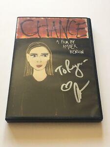 Chance DVD signed by Amber Benson (Tara in Buffy The Vampire Slayer) - Very Rare