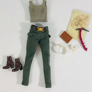 Barbie Doll Clothes Tomb Raider Movie Fashion Outfit and Accessories Lara Croft