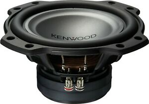 "NEW Kenwood XR-W802 Oversized 8"", 2 Ohm Single Voice Coil Subwoofer 300W RMS"