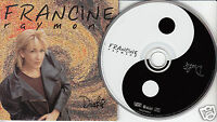 FRANCINE RAYMOND Dualite (CD 1996) Dualité 10 Songs Quebec French