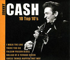 FREE US SHIP. on ANY 3+ CDs! NEW CD Johnny Cash: 10 Top 10's