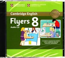 Cambridge English FLYERS 8 Official Examination Material AUDIO CD 2013 @NEW@