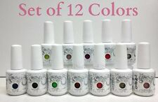 Harmony Gelish Soak-Off Nail Gel Polish - SET OF ANY 12 COLORS x 0.5oz