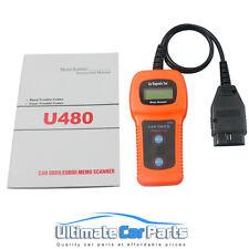 OBD 2  EOBD Car Diagnose Tester Diagnostic Scanner U380b Fault Code Scanner UK