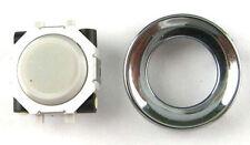 Blackberry Pearl 8100 8120 8130 8110 Trackball Rollerball Joystick + Ring White