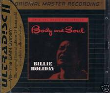 Holiday, Billie Body And Soul  MFSL GOLD CD NEU OVP Sea