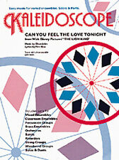 Kaleidoscope Can You Feel The Love Tonight Elton John Pop Music Book
