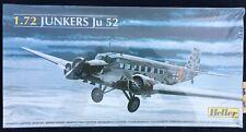 HELLER 1/72 JUNKERS Ju52 UNMADE MODEL ORIGINAL FACTORY WRAPPED BOX GERMAN WW2