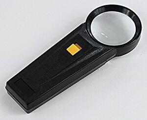 Magnifier - LED Handheld Magnifier 5X 51mm Diam. (H5XLEDSTD)