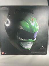 Bandai Power Rangers Mighty Morphin Legacy Green Ranger Helmet