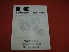 1996 Kawasaki GPZ1100 ABS Motorcycle Service Manual Supplement