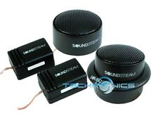 """SOUNDSTREAM TWS.1 1"""" 110W COMPONENT CAR PAIR STEREO TWEETERS SET NEW"""