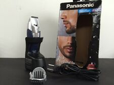Panasonic Cordless Beard Trimmer Clipper Wet Dry Hair Shaver Groomer Clean  (B)