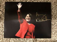 Amy Klobuchar Signed 8x10 Photo Authentic Presidential Candidate Autograph