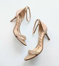 Sam Edelman Patti Biege Sueded Sandal Size 11