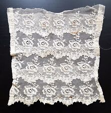 1890's Victorian Antique Wedding Dress - Something Old - Lace Embroidery