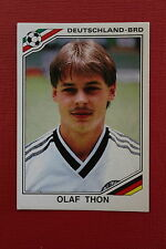 Panini MEXICO 86 N. 303 DEUTSCHLAND THON With back GOOD CONDITION!!