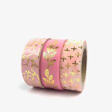 DOCRAFTS Papermania Craft Collection-Moderno Lustre cintas metálicas 5m 2pk