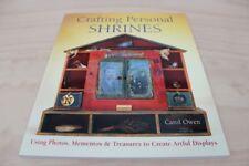 Buch Crafting Personal Shrines * altered collage art craft design workshop Altar
