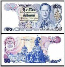 Thailand 50 Bath 1985-1996 (UNC) 全新 泰国50泰铢 1985-1996 (Sign 62 Tarin Vijit)