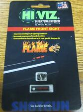 Hi Viz Red FLAME Sight for Vent Rib Shotguns FL2005-R w Mounting Screws USA NEW!