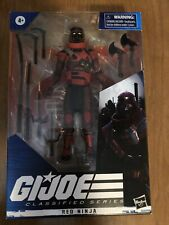 Hasbro G.I. Joe Classified Series Red Ninja Action Figure