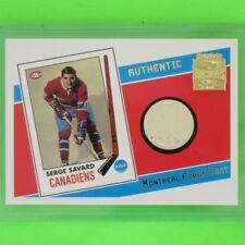 "SERGE SAVARD 2001-02  ""MONTREAL FORUM SEAT ARCHIVES""  #ASSSA  Montreal Canadiens"