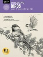 Drawing Birds : Learn to Draw Step by Step, Paperback by Aaseng, Maury, Brand...