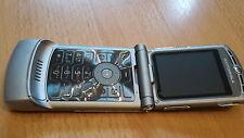 Pieghevole Per Cellulare Motorola RAZR v3 Argento + simlockfrei + CON PELLICOLA + tabulazione