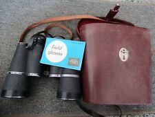 Vintage Carl Zeiss Jena Jenoptem 10 x 50 W Binoculars Instructions & Case