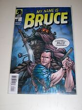My Name is Bruce #1 Dark Horse comic Bruce Campbell