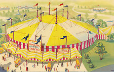Unmailed chrome Continental Circus @ New York Worlds Fair 1964-65
