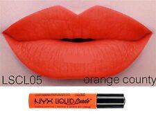 NYX 12 Colors Liquid Suede Waterproof Long lasting Matte Cream Lipstick