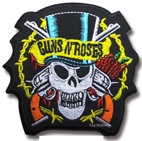 Rock Music BAND METAL HEAVY GUNS  iron on patch sew on badge