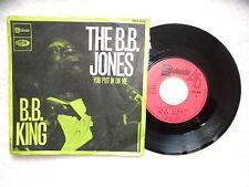 """45T 7"""" B.B. KING """"The B.B. Jones"""" STATESIDE FSS 606 FRANCE §"""