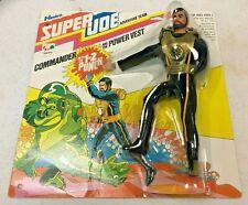 "Super GI Joe Adventure Team ~ COMMANDER ~ 8"" Action Figure 1977 MOC"