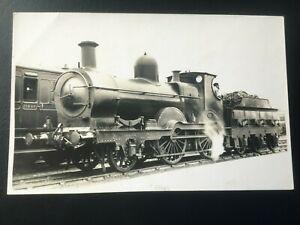 CAMBRIAN RAILWAYS: STEAM LOCOMOTIVE - NICE REAL PHOTO POSTCARD!