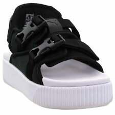 Puma Platform Slide YLM 19  Casual   Sandals Black Womens - Size 5 B