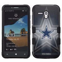 for Alcatel OneTouch Fierce XL Impact Hybrid Cover Case Dallas Cowboys