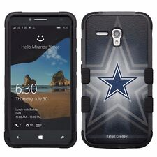 for Alcatel OneTouch Fierce XL Impact Hybrid Cover Case Dallas Cowboys